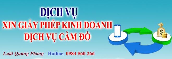 Dịch vụ xin giấy phép kinh doanh dịch vụ cầm đồ tại Quảng Ninh