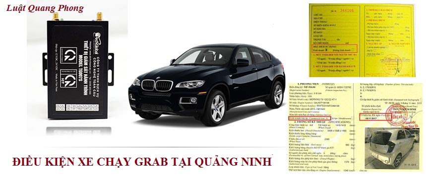 Điều kiện xe chạy Grab tại Quảng Ninh