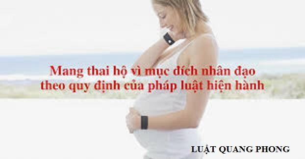 thủ tục mang thai hộ