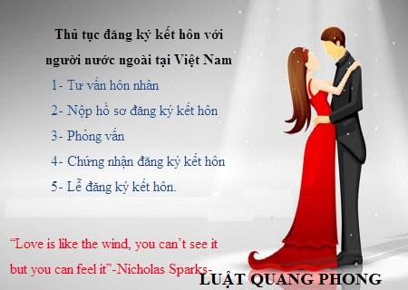 Tư vấn kết hôn với người nước ngoài tại Quảng Ninh