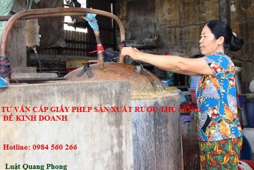 Thủ tục xin cấp Giấy phép sản xuất rượu nhằm mục đích kinh doanh tại Quảng Ninh