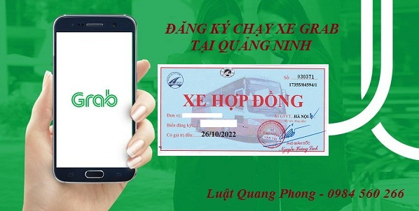 Thủ tục xin cấp phù hiệu xe chạy Grab tại Quảng Ninh