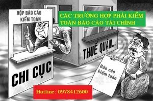 Các trường hợp phải kiểm toán báo cáo tài chính tại Quảng Ninh