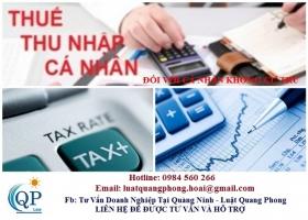Cách tính thuế TNCN đối với cá nhân không cư trú
