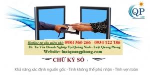 Chữ ký số tại Quảng Ninh