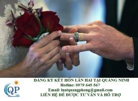 Đăng ký kết hôn lần hai tại Quảng Ninh