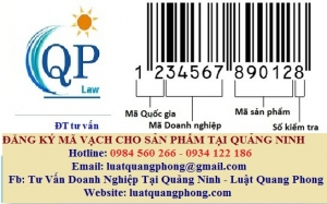Đăng ký mã vạch cho sản phẩm tại Quảng Ninh