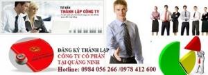 Đăng ký thành lập công ty cổ phần tại Quảng Ninh
