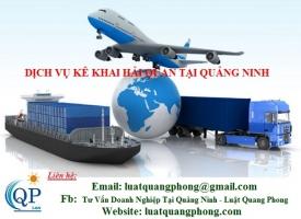 Dịch vụ kê khai hải quan tại Quảng Ninh