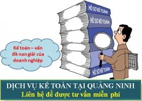 Dịch Vụ Kế Toán Tại Quảng Ninh