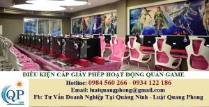 Điều kiện cấp giấy phép hoạt động của quán Game tại Quảng Ninh