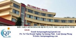 Điều kiện kinh doanh dịch vụ lưu trú tại Quảng Ninh