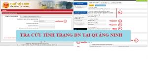 Hướng dẫn tra cứu tình trạng doanh nghiệp tại Quảng Ninh