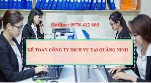 Kế toán công ty dịch vụ tại Quảng Ninh