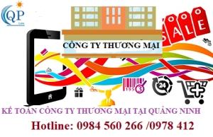 Kế toán công ty thương mại tại Quảng Ninh
