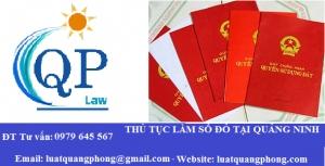Làm sổ đỏ tại Quảng Ninh