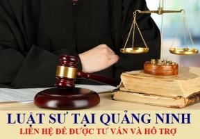 Luật sư tại Quảng Ninh