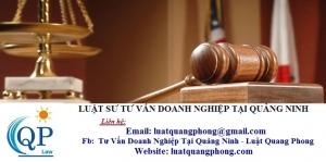 Luật sư tư vấn Doanh nghiệp tại Quảng Ninh