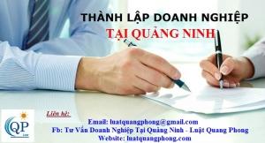Thành lập Doanh nghiệp tại Quảng Ninh
