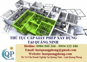 Thủ tục cấp Giấy phép Xây dựng tại Quảng Ninh