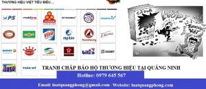 Tranh chấp bảo hộ thương hiệu tại Quảng Ninh