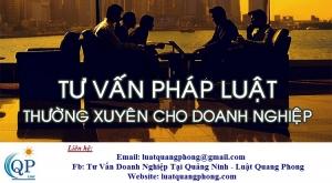 Tư vấn doanh nghiệp thường xuyên tại Quảng Ninh