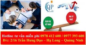 Tư vấn thuế kế toán tại Quảng Ninh