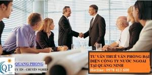Tư vấn thuế văn phòng đại diện công ty nước ngoài tại Quảng Ninh