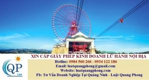Xin cấp Giấy phép kinh doanh lữ hành nội địa tại Quảng Ninh