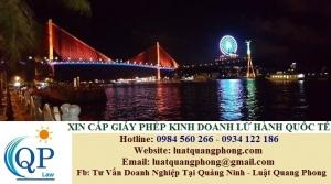 Xin cấp Giấy phép kinh doanh lữ hành quốc tế tại Quảng Ninh
