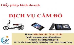 Xin giấy phép an ninh trật tự cho dịch vụ cầm đồ tại Quảng Ninh