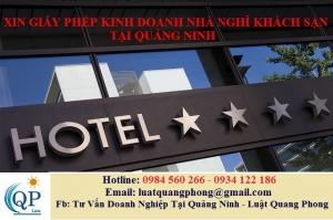 Xin giấy phép kinh doanh Nhà nghỉ khách sạn tại Quảng Ninh