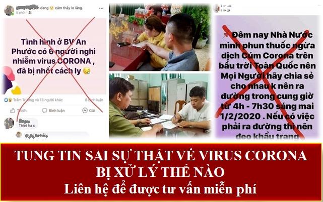 Tung tin sai sự thật về virus corona bị xử lý như thế nào?