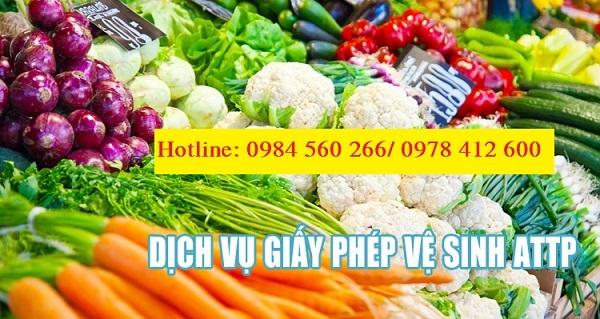 Xin cấp lại giấy phép vệ sinh an toàn thực phẩm tại Quảng Ninh